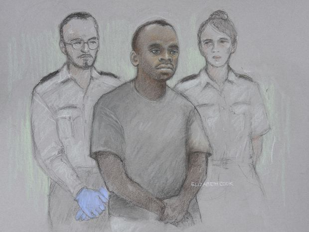 Man who drove car into people outside U.K. Parliament gets life sentence for attack judge calls 'terrorist'