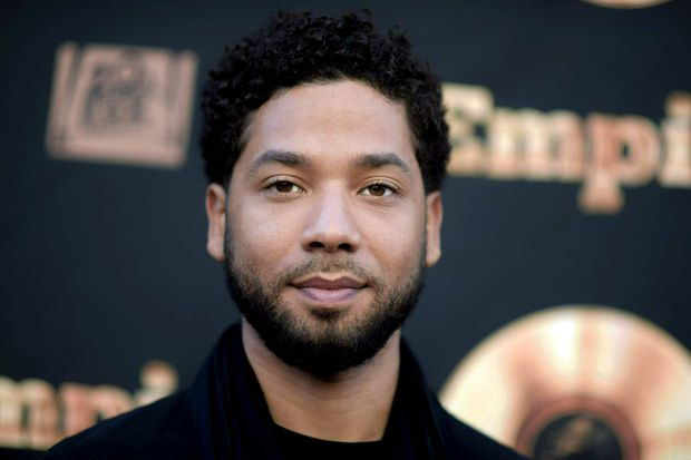 Empire actor Jussie Smollett charged with making a false police report