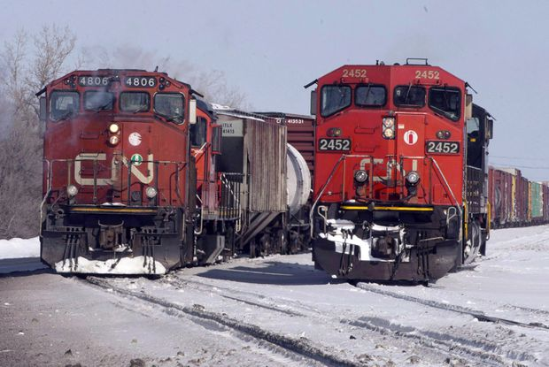 CN Rail reaches tentative agreement with 2,100 Canadian mechanics, electricians