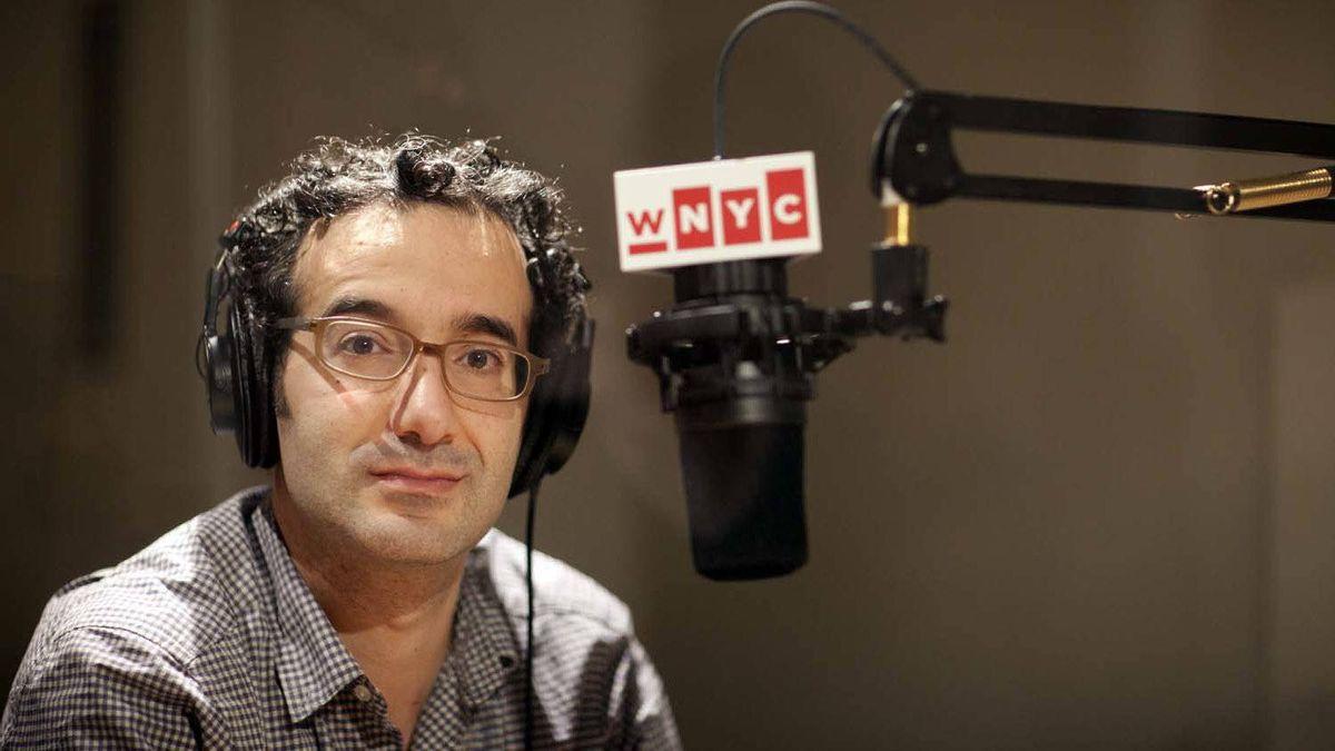 Jad Abumrad in the WNYC Studios