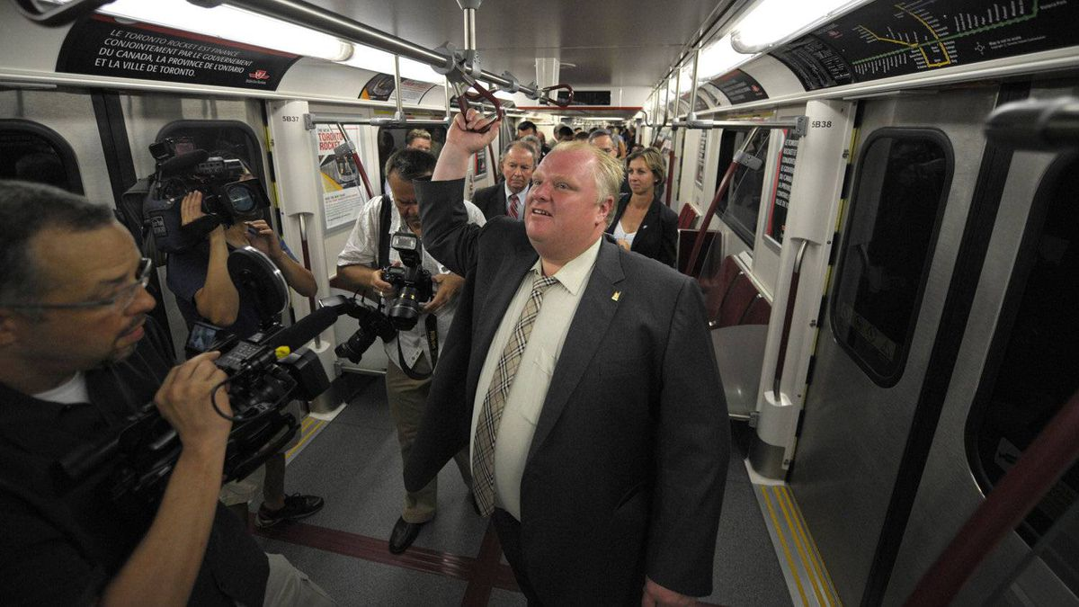 Mayor Rob Ford has expressed an interest in compromising on his his Sheppard subway plans.