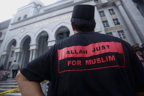 Malaysia's top court upholds ban on non-Muslims using 'Allah' to refer to God