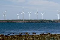 A wind farm operation owned by Emera.