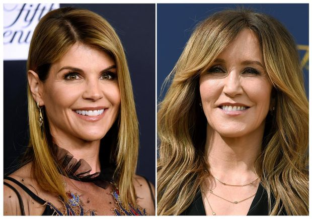 Lori Loughlin Shakes Hands With Prosecutors, Surrenders Passport at Court Appearance