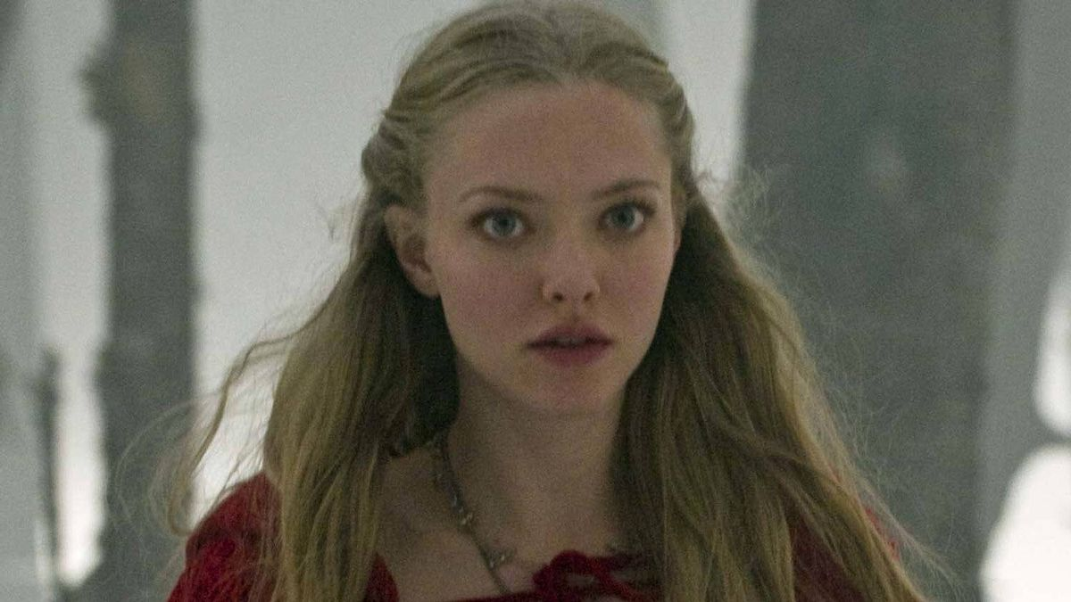 "Amanda Seyfried in a scene from ""Red Riding Hood"""