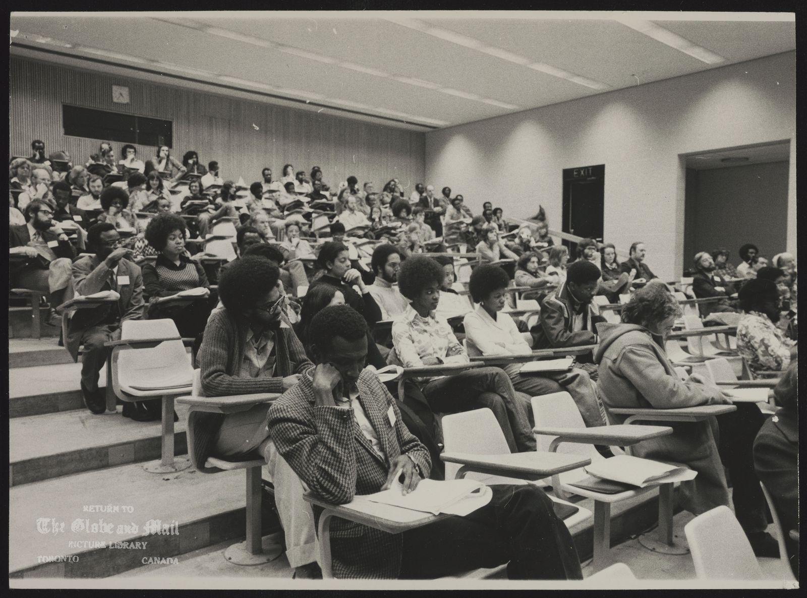 BLACKS IN CANADA The Black Experience, a seminar at York University, February 20, 1975.