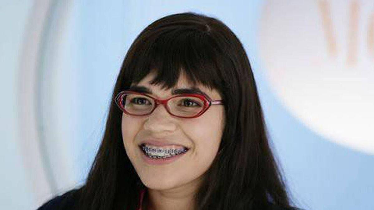 America Ferrera in a scene from Ugly Betty.