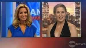Screen capture from Krista Erickson interview with Margie Gillis.