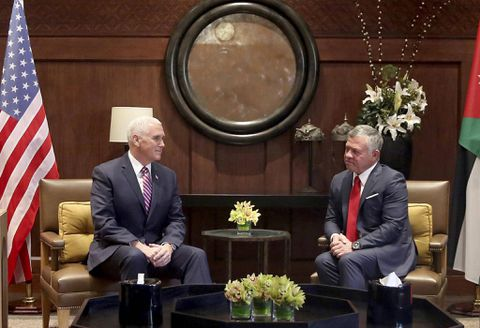 Palestinians refuse visit of US vice president to Middle East