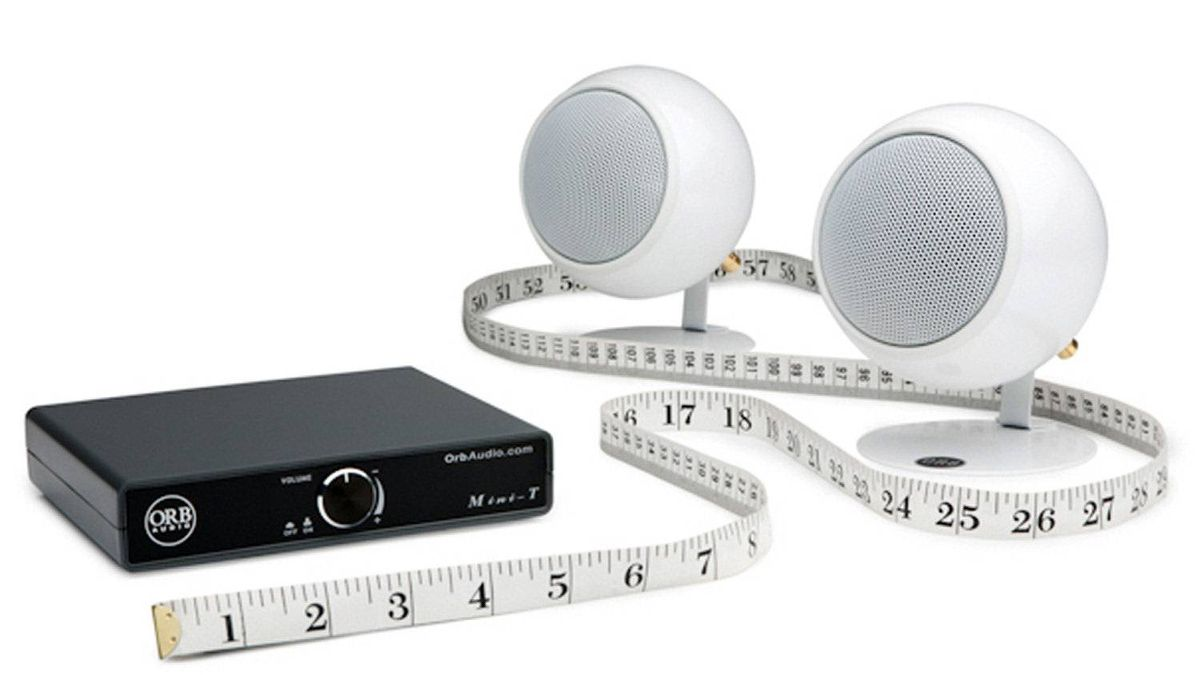 The Mini-T goes for $118 in specialty audio stores, but you can purchase it directly from Orb Audio's website for the much more reasonable price of $69. Throw in a pair of Mod1 speakers and you're looking at $299.