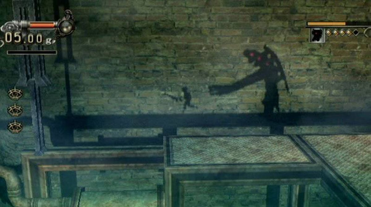 A screen capture from Lost in Shadow