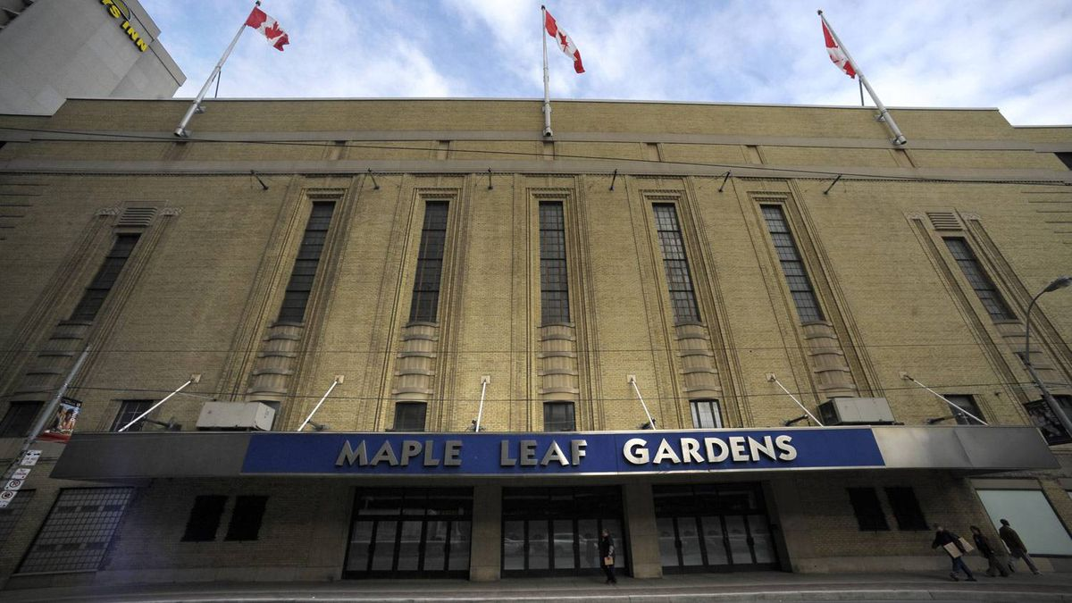 Maple Leaf Gardens in Toronto. Fred Lum/The Globe and Mail