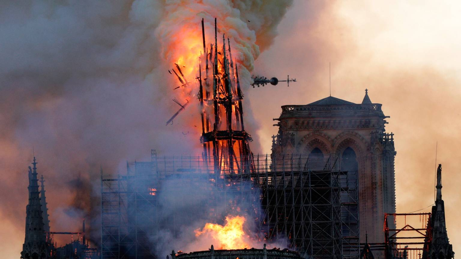 Notre-Dame Cathedral devastated by fire