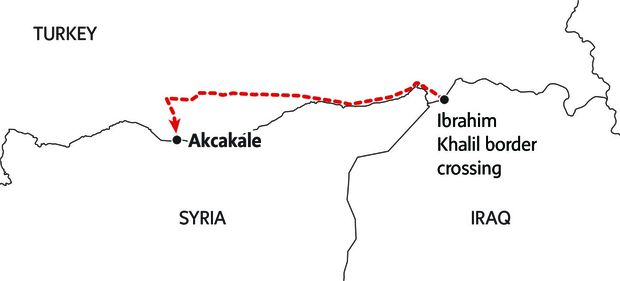 Where the Kurdish road ends: In Iraq and Turkey, The Globe retraces a people's path from hope to betrayal 33