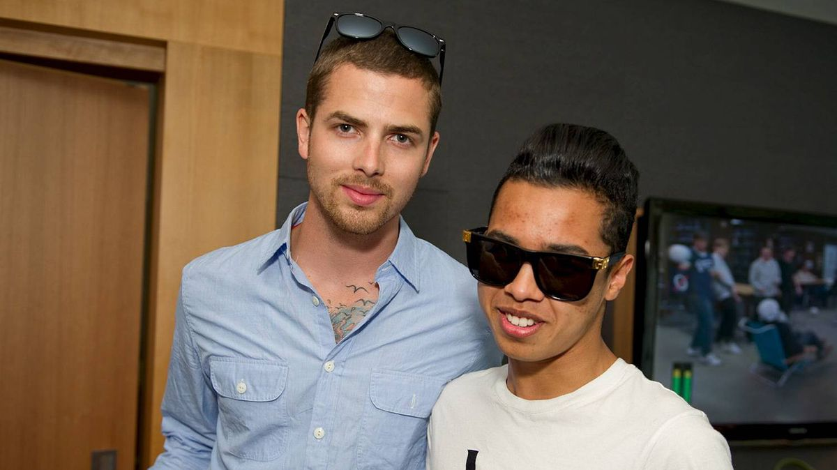 Jesse Giddings and Jay Strut at the BHD Lounge.
