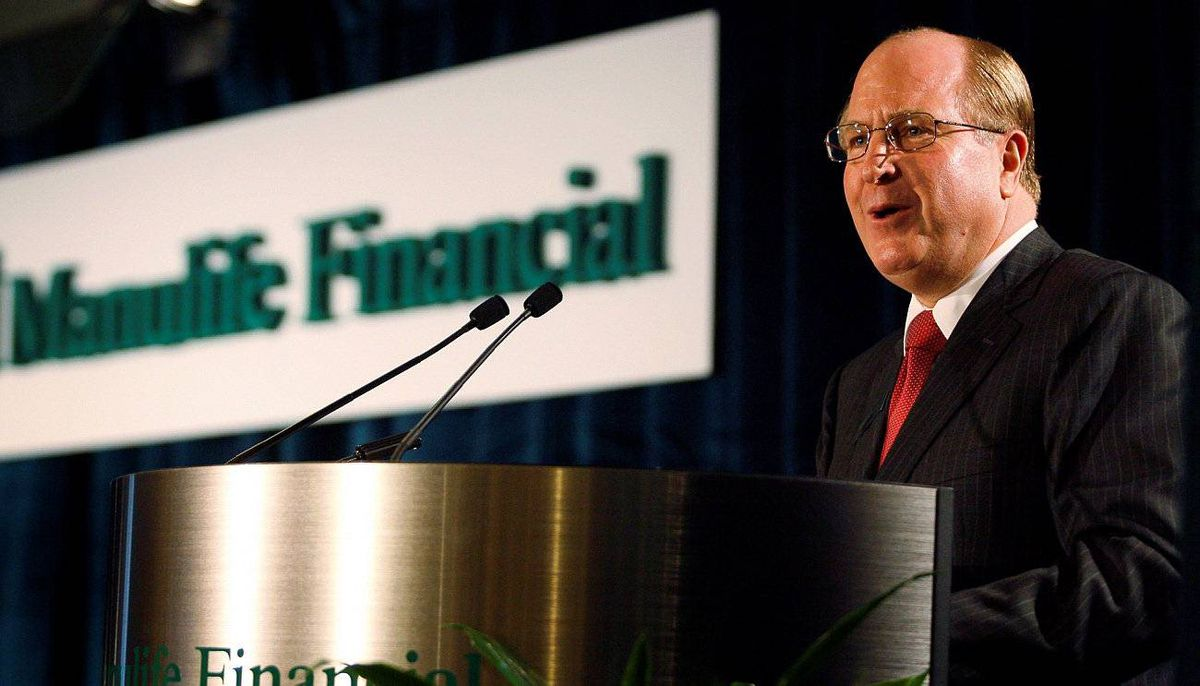 Manulife CEO Donald Guloien