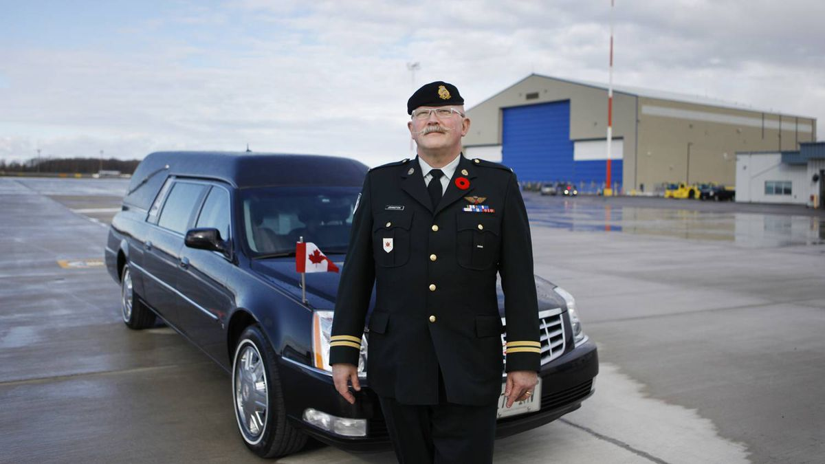 As the Casualty Administration Officer for the Canadian Forces, Captain Wayne Johnston ensures the timely and dignified return of soldiers who die in Afghanistan.