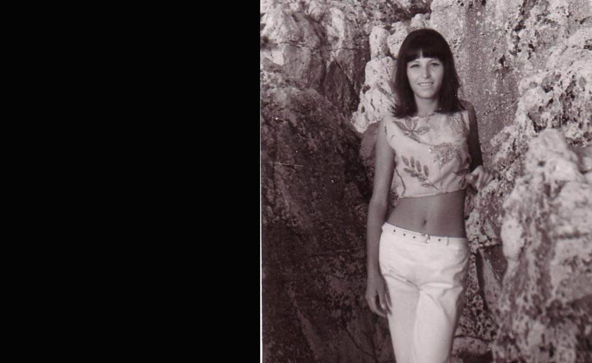 'A photo of my mother, Jelena Stojicevic, taken in the early 1960's in the Mediterranean,' writes Nick Stiles.