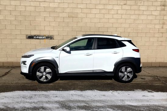 Out in the cold with a Hyundai Kona Electric