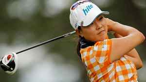Hee Kyung Seo of South Korea hits her tee shot on the 11th hole during the final round of the U.S. Women's Open at the Broadmoor on July 10, 2011 in Colorado Springs, Colorado. (Photo by Mike Ehrmann/Getty Images)