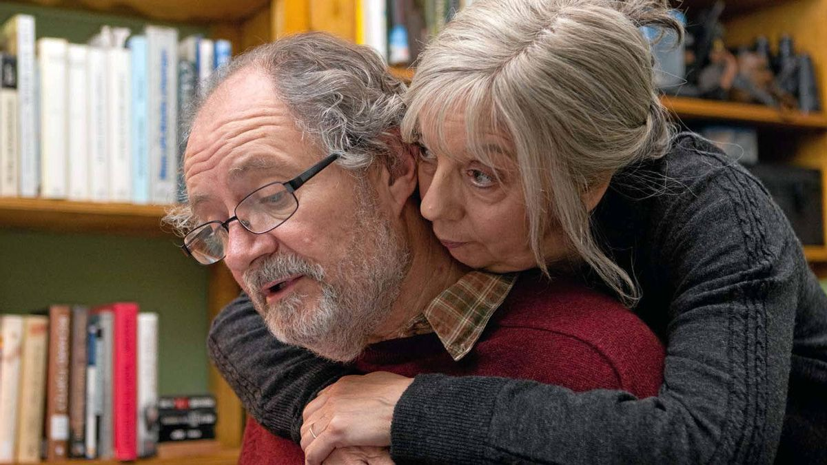 "Tom (Jim Broadbent) and Gerri (Ruth Sheen), from the movie ""Another Year"""