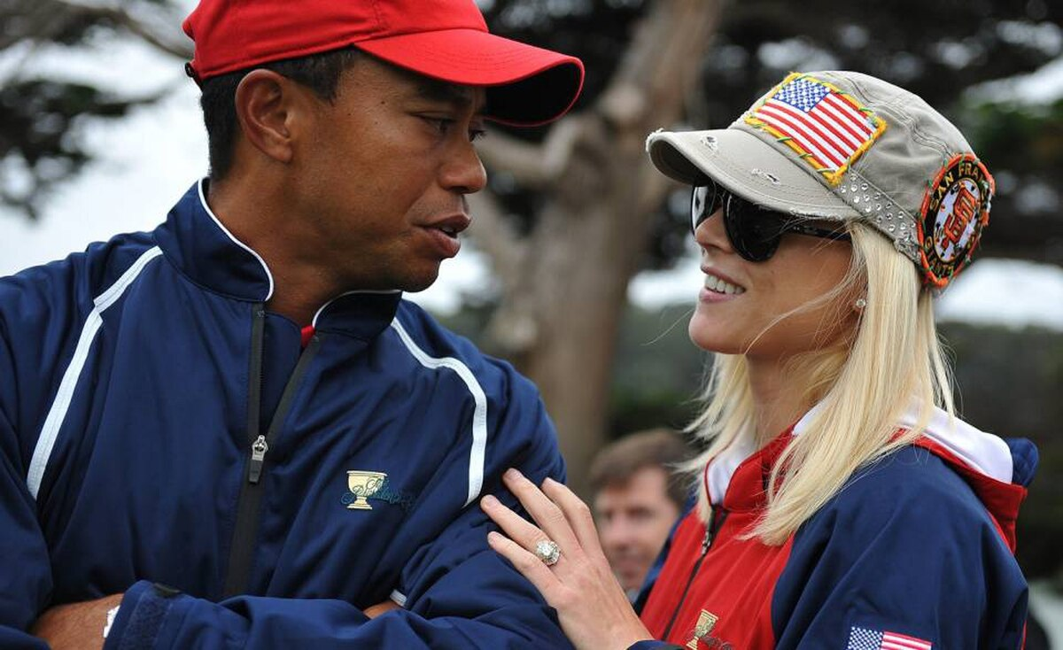 Tiger Woods, an American golfer, is the highest-paid professional athlete in the world. He went on hiatus from the golf circuit in December, 2009, after admitting to extramarital affairs with multiple women. ?I knew my actions were wrong but I convinced myself that normal rules didn't apply. I never thought about who I was hurting, instead I thought only about myself,? he said in a televised statement in February, 2010. He is shown here with his wife, Elin Nordegren.