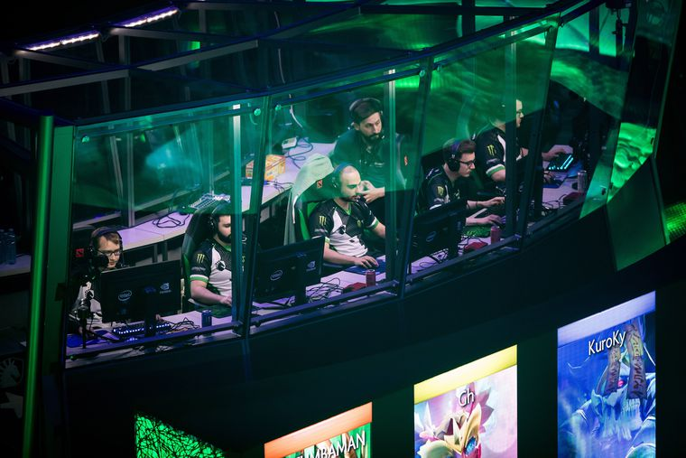 Millions on the line at professional eSports competition in