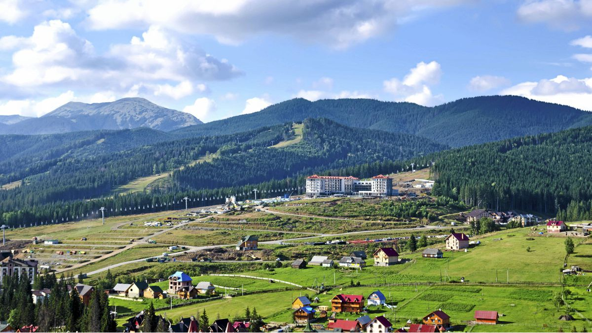 Footy fans will discover Ukraine's cities, but don't miss a chance to explore the Carpathian mountains.