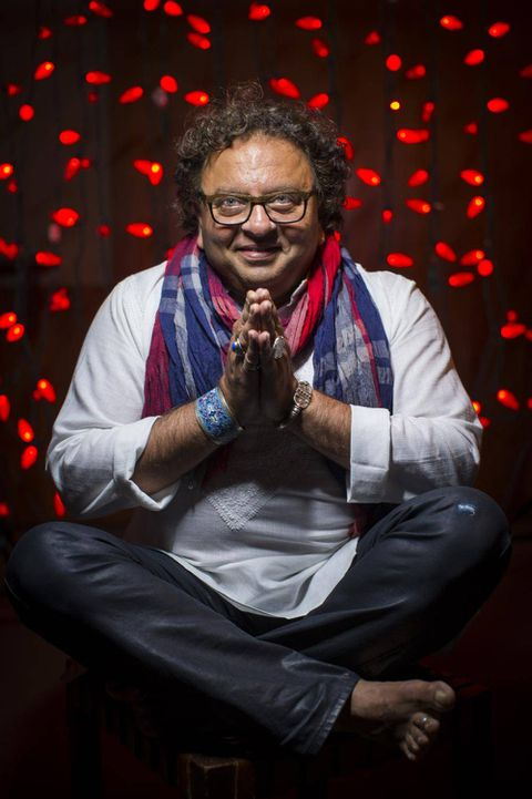 Out of the kitchen and into the Dragons' Den for Vikram Vij