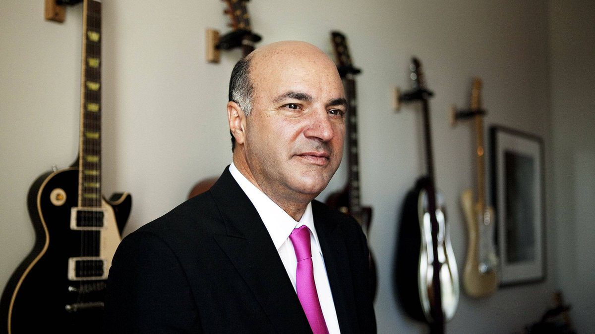 Kevin O'Leary in Toronto, Sept. 14, 2011.