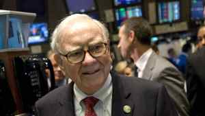 Buffett paid $6.9-million in federal income tax in 2010