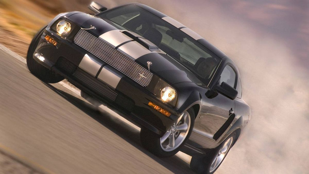 The 2007 Ford Shelby GT.