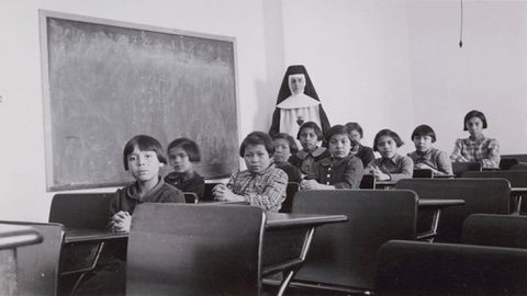 Indigenous kids were healthy before arrival at residential schools: study