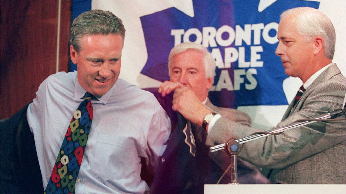 Mike Murphy coached the Toronto Maple Leafs from 1996 to 1998.