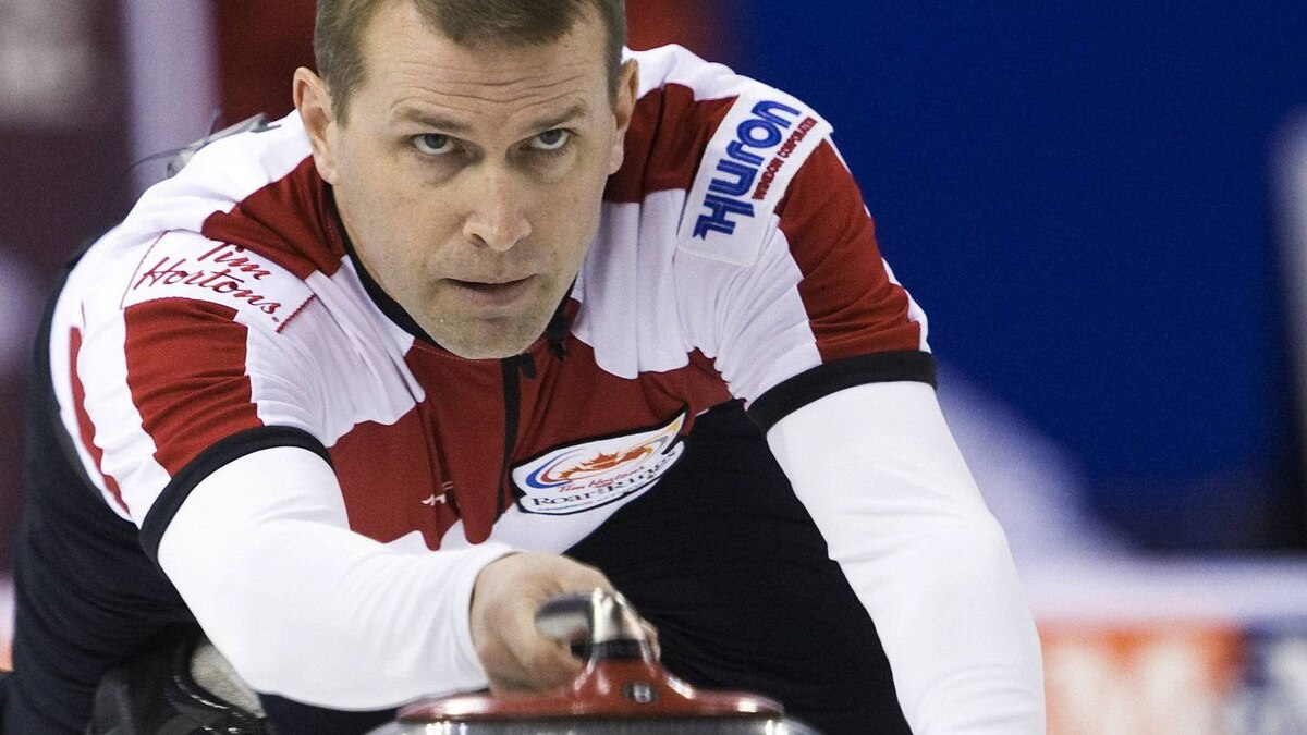 Jeff Stoughton finished with a perfect record at the grand slam of curling. THE CANADIAN PRESS/Nathan Denette