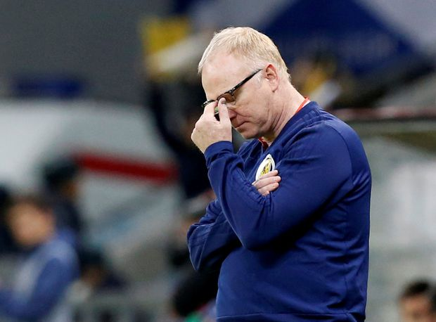 Scotland soccer manager Alex McLeish fired after poor start to Euro 2020 qualifying
