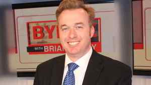 """This archive photo shows Brian Lilley as host of Sun News Network's """"Byline"""""""""""