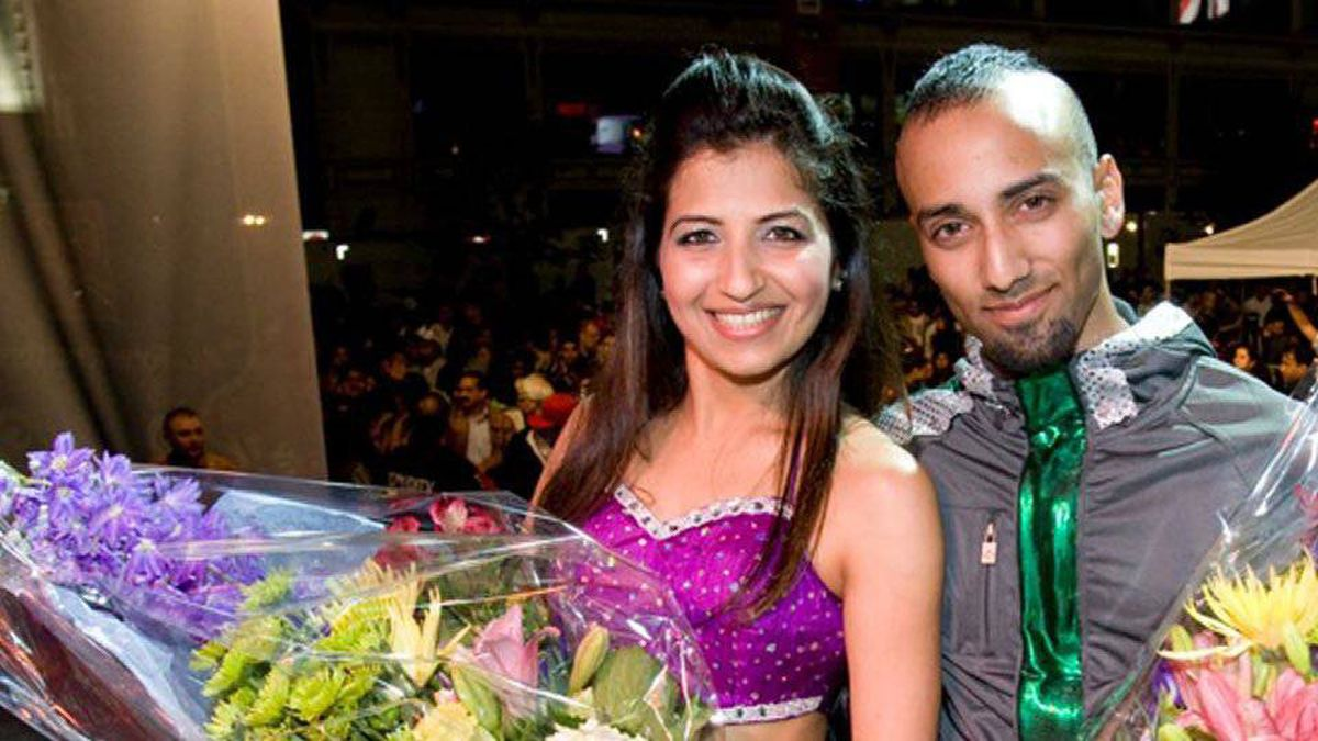 Chase Constantino and Kalpita Desai, CIBC / IIFA Bollywood Dance Move Winners. The finale was staged in Toronto, which is the first North American city to host the event.