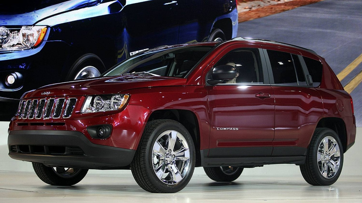 The restyled 2011 Jeep Compass
