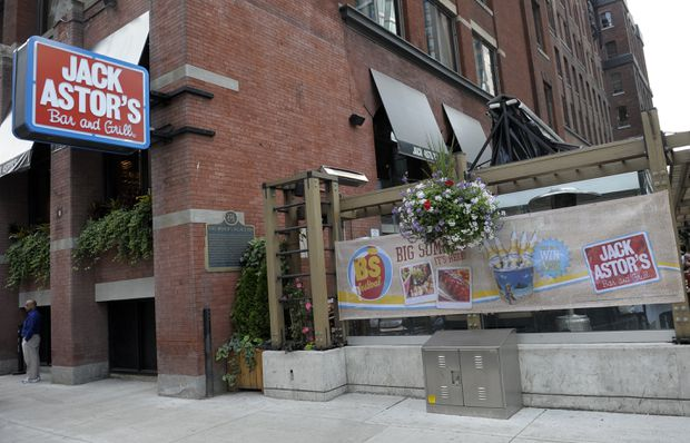 Jack Astor's brand owner SIR units plunge after trust lowers payouts due to drop in sales