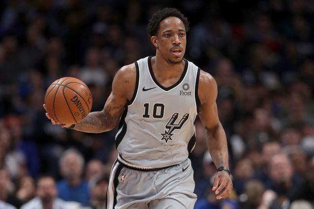 sports shoes 972d7 d8fc1 Spurs' way': DeRozan takes different approach, raises game ...