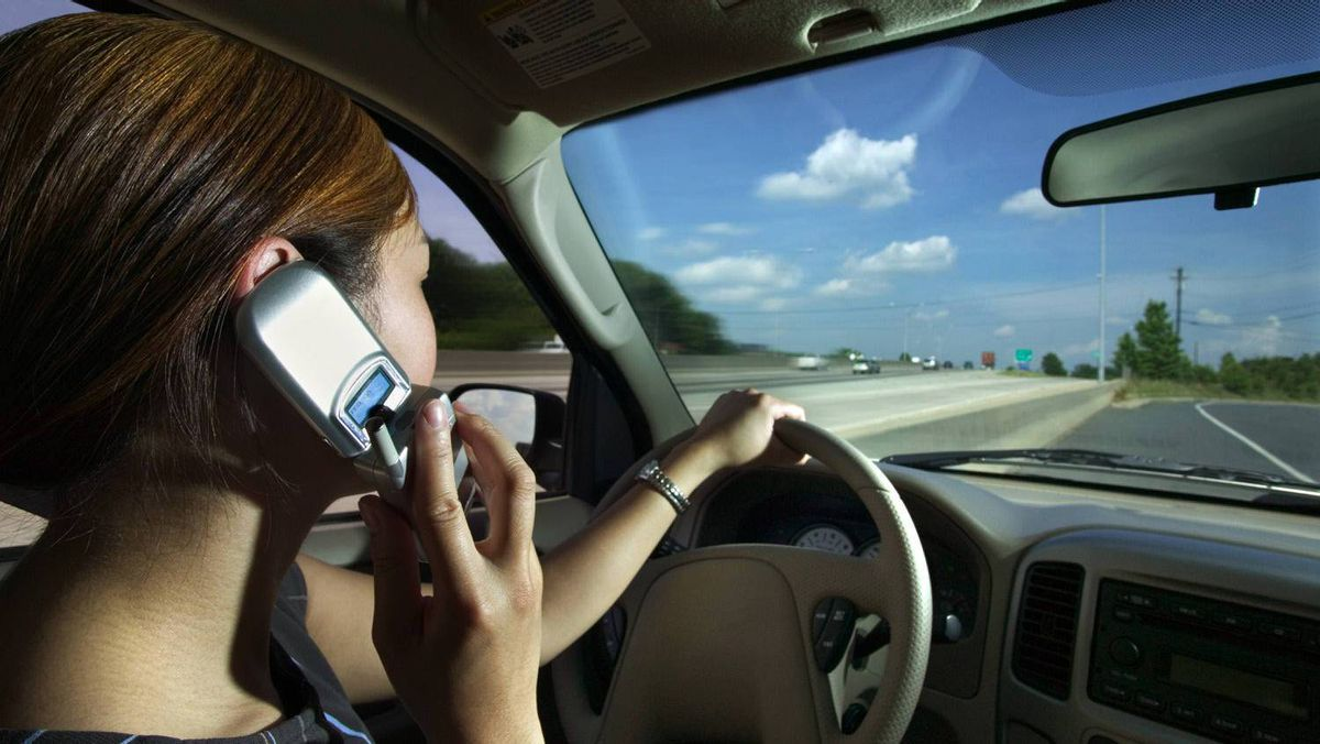 Are you guilty of talking on the phone when teaching your teen how to drive? Tell us in the comments.