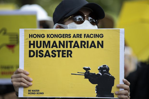 As champions of liberty and democracy, G7 leaders must speak out on Hong Kong