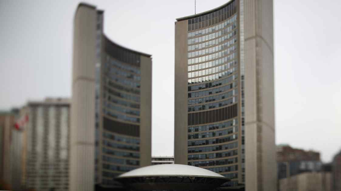 Toronto City Hall Oct 26, 2010. (Moe Doiron/The Globe and Mail)