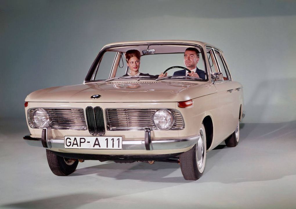 1961 Bmw 1500 A New Style Of Car Sporty And Compact Boosts Back To Profitability Two Years Later The First In Line That Would Come Be Known As