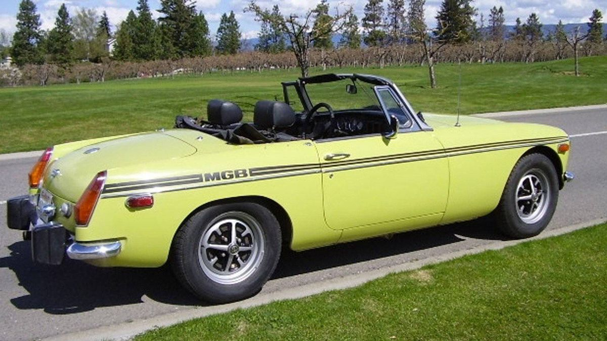 MGB: The MGB had modest performance, but its snug cockpit and convertible roof made for a memorable driving experience. The flakey Lucas electrical system added occasional drama.