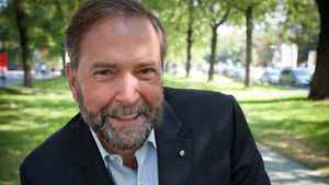 Thomas Mulcair has convened supporters in Montreal on Oct. 13, 2011 to launch his campaign for the NDP leadership.