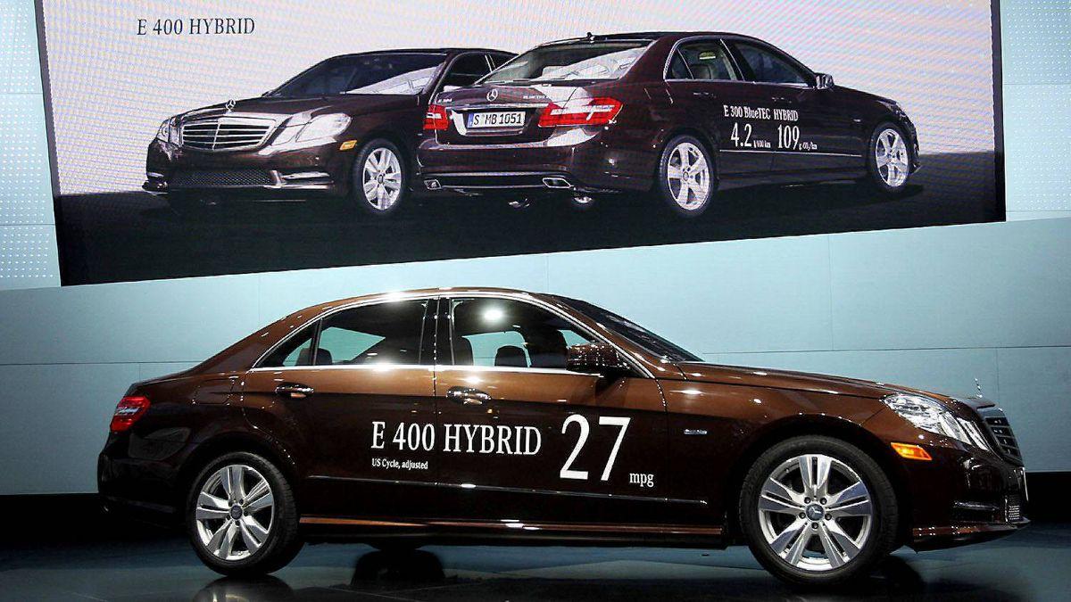 Mercedes-Benz E-400 hybrid