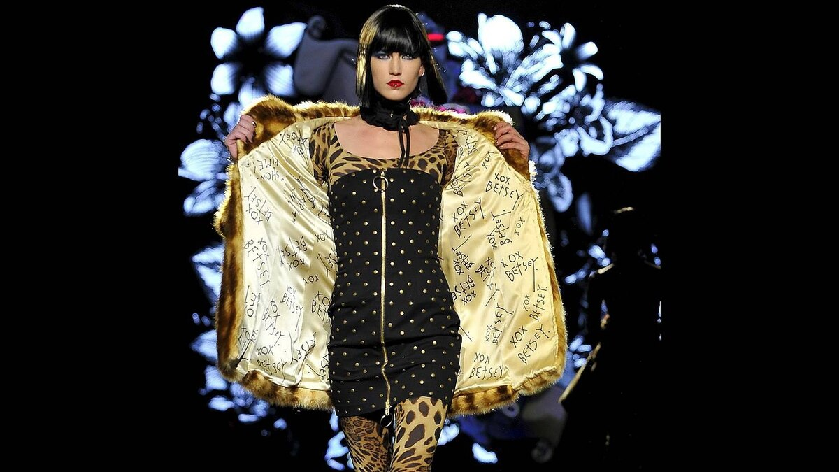 Fall 2011 fashion from designer Betsey Johnson is modeled during Fashion Week on Monday, Feb. 14, 2011, in New York.