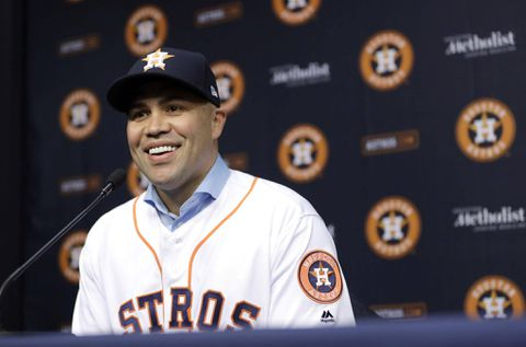 Carlos Beltran Houston Astros Finalize 16 Million 1 Year